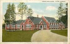 Georgia, GA, Tifton, Junior High School Postcard