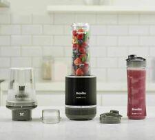Breville Blend Active Pro Food Prep Personal Blender Mini Food Processor VBL212