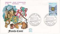 Enveloppe 1er jour FDC n°1001 - 1977 : Région La Franche Comté