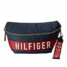 Tommy Hilfiger Women's Malena Small Body Bag Belt Bag Fanny Pack Navy Blue