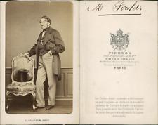 Pierson, Fould CDV vintage albumen, Achille Marcus Fould (Paris, 17 novembre 180