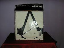 ASSASSIN'S CREED LOGO UFFICIALE white cotton t-shirt spedizione gratuita nel Regno Unito
