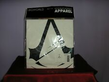 Assassin's Creed logotipo oficial Blanco Algodón GRATIS UK FRANQUEO Camiseta