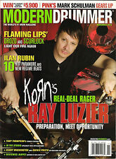 MODERN DRUMMER November 2013 Cover Korn RAY LUZIER Tony Thompson ILAN RUBIN