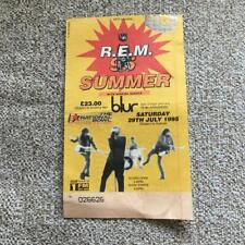 More details for rem ticket milton keynes 29/07/95 #026626 blur
