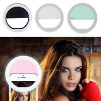 Selfie 36 LED Light Ring Flash Fill Clip Camera for Phone Tablet iPhone Samsung