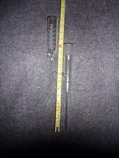 Zwischenstück, mit angesetztem Tropftrichter 50 ml, NS 29, graduiert, Glasküken