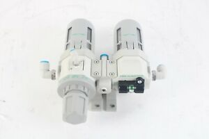 CKD W4000-15-W-FL41081 Filter Regulator w/ M4000-15-W-FL41082 regulator