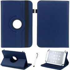 "Flip Stand 360 Rotating Leather Cover Case For Barnes & Noble NOOK 7"" 9"" Tablet"