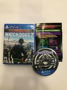 Watch Dogs 2: Deluxe Edition (Sony PlayStation 4, PS4)