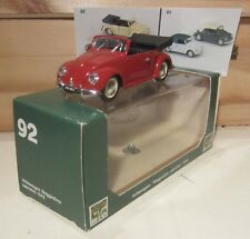 772.RIO models N.92 Volkswagen Maggiolino CABRIOLET 1949 Aperto/Open Rosso scuro