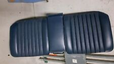 MERCEDES W123   REAR BENCH SEAT FOR 2 DOOR COUPE,  BLUE, 78 TO 85