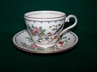 """AYNSLEY  """"PEMBROKE""""  CUP AND SAUCER"""