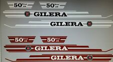 GILERA TRIAL SV MODELS  FULL  DECAL KIT