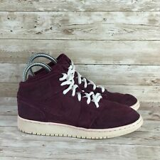 Nike Air Jordan 1 Retro Youth Size 5.5Y Bordeaux Red Mid GS Basketball Sneakers