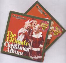 ULTIMATE CHRISTMAS ALBUM: PROMO 2 CD SET - JONA LEWIE, MICHAEL BALL, EARTHA KITT