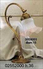 Lampada Abat-jour applique in ottone stile liberty