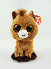 "6"" TY Beanie Boos Unicorn Harriet With Tag Gift Glitter Eyes Plush Stuffed Toys"