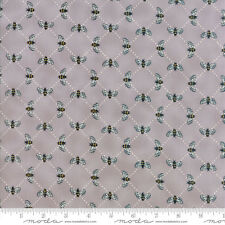 MODA Fabric ~ BEE INSPIRED ~ by Deb Strain (19796 15) Pebble Grey - by 1/2 yard