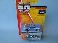 MATCHBOX 60th ANNIVERSARIO Lamborghini Gallardo lp560 Polizia Police Blu Auto Giocattolo