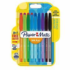 Paper Mate InkJoy 100 CAP Capped Ballpoint Pen Medium Assorted Colours, 27 Pack