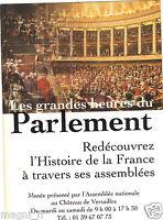 Publicité - cpm - Les grandes heures du Parlement - Château de Versailles