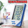 Digital Thermometer Hygrometer Max Min Temperature Humidity Indoor Outdoor UK