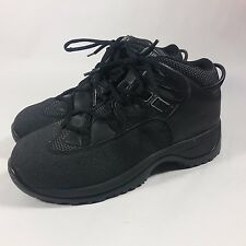NICE Women's Carolina Black Ankle Work Hiking Boots-Oil & Sip Resistant-6 W