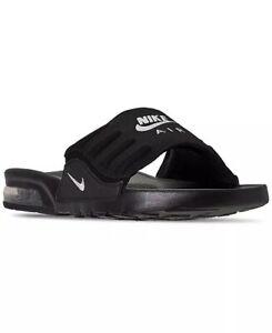 Nike Air Max Camden Men's Sandals Slides Size 11 Black White NEW BQ4626-003