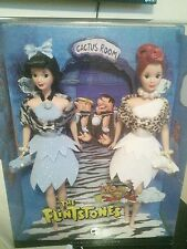 The Flintstones Barbie Doll Giftset Silver Label NRFB Betty and Wilma 2008