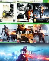 Xbox one Battlefield Xbox One Assorted Take 1 Or Bundle UP Battlefield Xbox 360