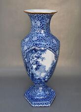 Große Villeroy & Boch Mehlem Bonn Vase Flamand-Dekor 38 cm