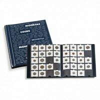 Album pour ranger 200 Pièces de Monnaie de Collection + 20 Etuis Carton GRATUITS