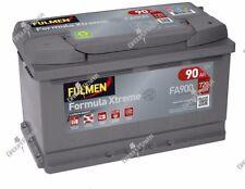 Batterie démarrage voiture Fulmen FA900 12v 90ah 720A Livraison express