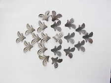 20  WROUGHT IRON  LEAF DECORATION