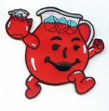 "HEY KOOL-AID MAN 3.5"" Pitcher Logo Iron-on PATCH! Koolaid OHH YEAH!"