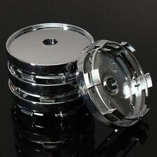 4PCS Universal 60mm Car Wheel Center HUB Anti-Dust Wheel Caps ABS Plating HOT