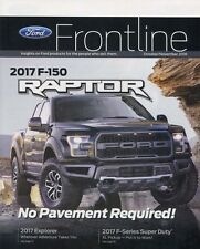 2017 FORD FRONTLINE MAGAZINE featuring the  2017 F-150 RAPTOR  -- Oct / Nov 2016