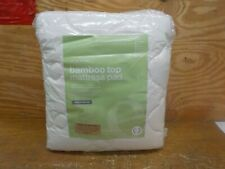 eLuxurySupply Rayon from Bamboo Extra Thick Mattress Pad with Fitted Skirt KING