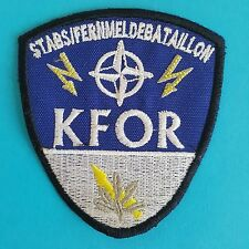 German Germany NATO KFOR Stabs Telecommunications Battalion Army Badge Patch