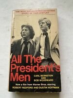 All The President's Men By Carl Bernstein And Bob Woodward