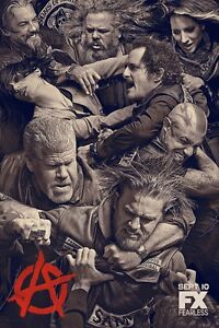 Sons Of Anarchy poster print (c)  : 11 x 17 inches - Charlie Hunnam poster