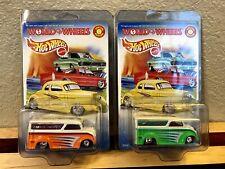 Hot Wheels Autorama World of Wheels DAIRY DELIVERY Custom Set Lot BOTH RARE 1999