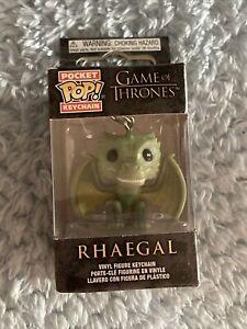 Pocket Pop Game of Thrones Rhaegal Vinyl Key Chain Free Shipping