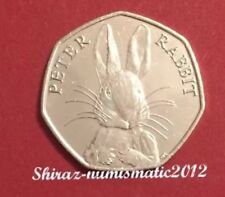 2016 Beatrix Potter 50p Coin Petter 🐇 From Sealed Bag UNC