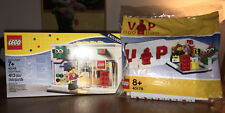 PR. CON. - LEGO 40145 + 40178 BRAND RETAIL STORE & EXCLUSIVE VIP SET - VERY RARE