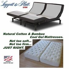 LEGGETT & PLATT PRODIGY 2.0 SPLIT CAL/CALIFORNIA KING ADJUSTABLE BED+ MATTRESSES
