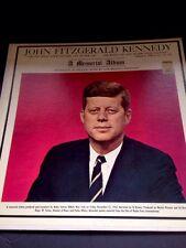 John F Kennedy A Memorial Album WMCA Broadcast 11/22/63 Actual Speeches 2 Avail