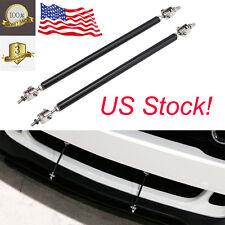 8''-13'' Adjustable Front Bumper Rod Splitter Spoiler Strut Support Tie Bars