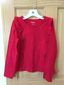 NWT Gymboree Red Tee T Shirt Top Girls Outlet soft